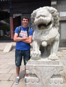 stone foo lions
